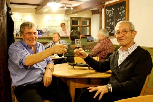 «Wir bringen Leben hierher.» Michele Cuomo (l.) und Giovanni Parrino haben das «Landhus» übernommen.